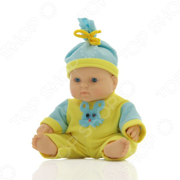 Кукла интерактивная Весна «Карапуз 10 мальчик» кукла весна карапуз в халате в ванночке мальчик 20 см