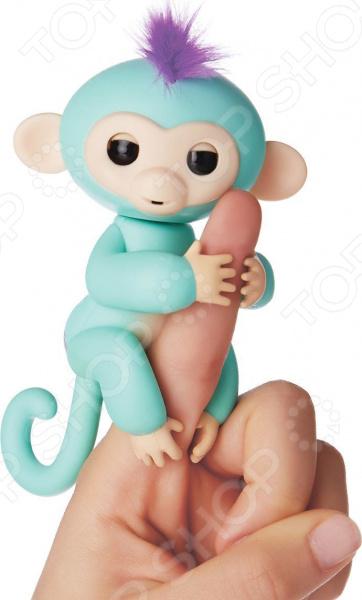 Игрушка интерактивная Fingerlings «Обезьянка Зоя» игрушка интерактивная 31 век обезьянка f 003b р