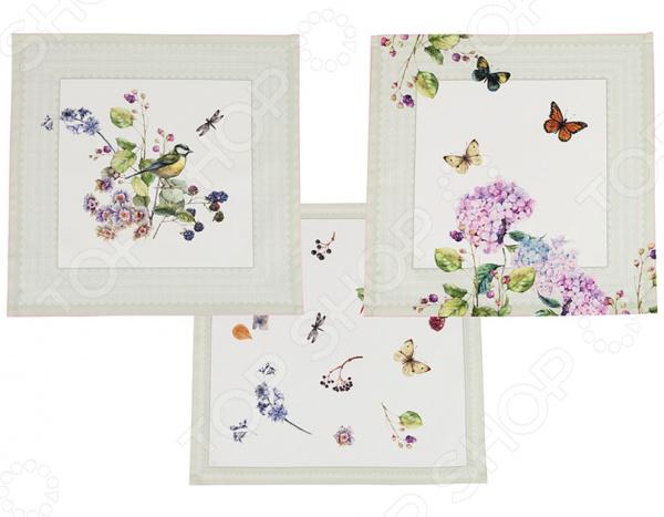 Набор салфеток для сервировки Santalino «Ботаника» 850-702-8 сидушка на стул santalino райский сад 850 818 5