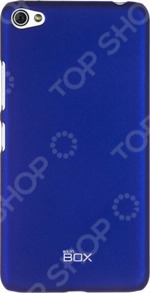 Чехол защитный skinBOX Lenovo S60 чехлы для телефонов skinbox накладка для lenovo vibe c skinbox серия 4people защитная пленка в комплекте