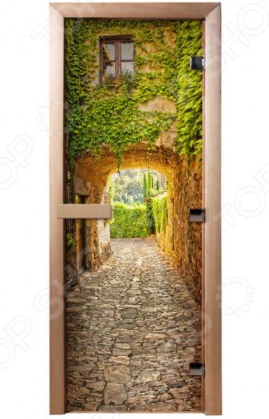 Дверь для бани с фотопечатью Банные штучки «Прованс» 32681