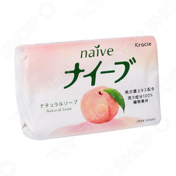 Мыло Kracie Naive с экстрактом персика