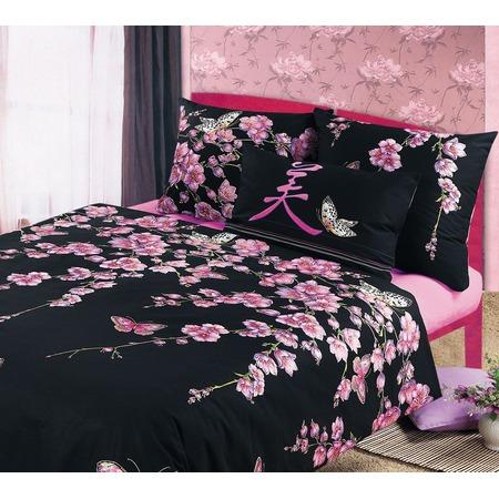 Купить Комплект постельного белья Белиссимо «Сакура». Евро