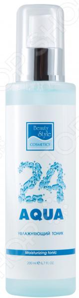 Тоник увлажняющий для лица Beauty Style Aqua 24 beauty style увлажняющий тоник beauty style aqua 24 4515702 200 мл