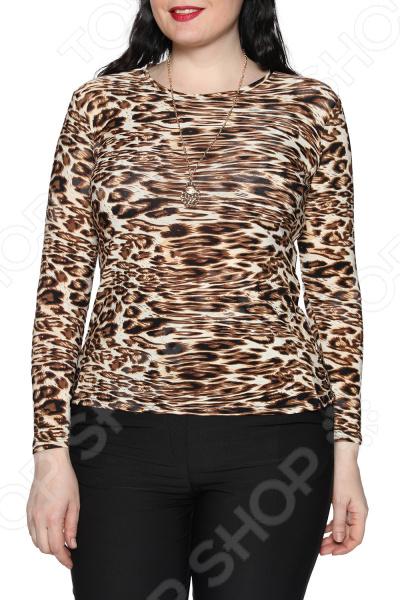 Блуза Blagof «Женщина-загадка». Цвет: коричневый