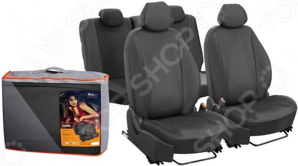Набор чехлов для сидений Airline Ford Focus III, 2011, «Лима» ACCS-L-23