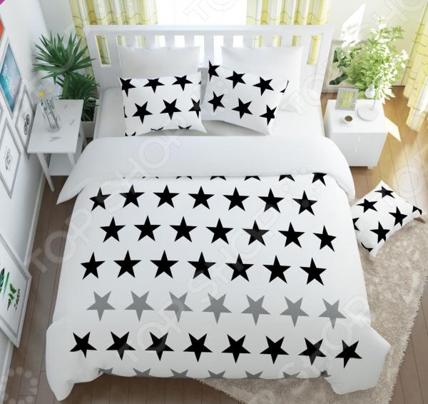 Комплект постельного белья Сирень «Аллея звезд»