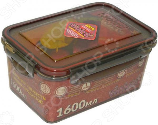 Контейнер для хранения продуктов Violet 093 контейнер для хранения violet ротанг 10 л бежевый
