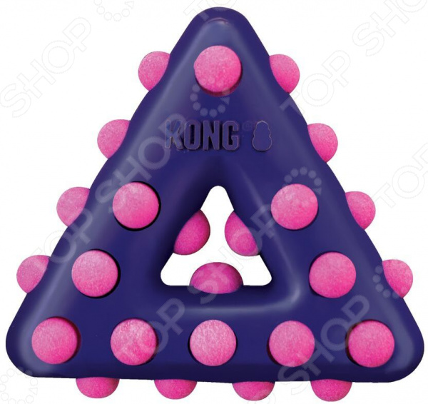 Игрушка для собак Kong Dotz «Треугольник»