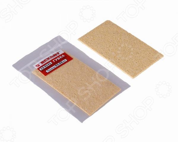 Губка для очистки паяльного жала Rexant 12-0191