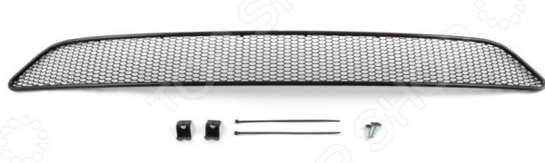 Сетка на бампер внешняя Arbori Soty для Honda CR-V, 2013-2015. Цвет: черный