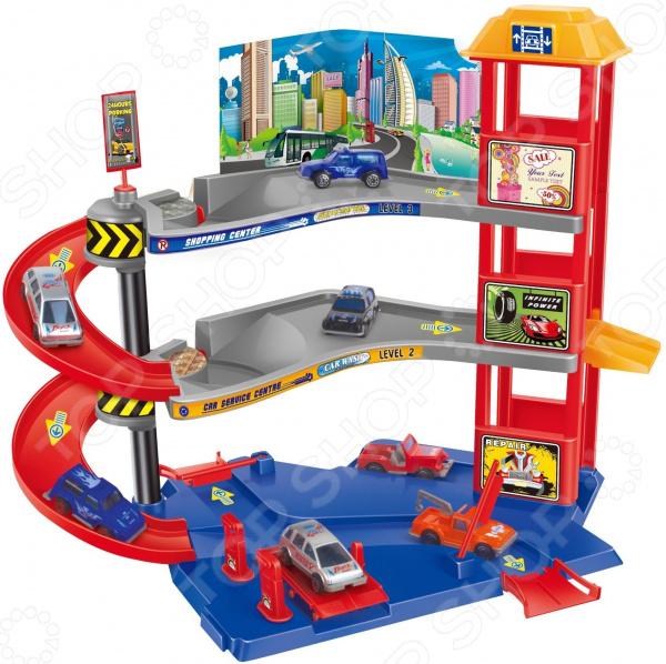 Трек гоночный Dave Toy «Парковочная башня» Трек гоночный Dave Toy «Парковочная башня» /