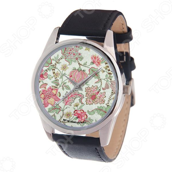 Часы наручные Mitya Veselkov «Розовые лотосы»
