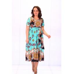Платье Матекс «Цветочное небо»
