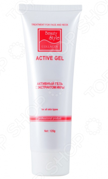 Гель для лица с экстрактом икры Beauty Style Beauty Style nuface mini аппарат микротоковой терапии лица белый