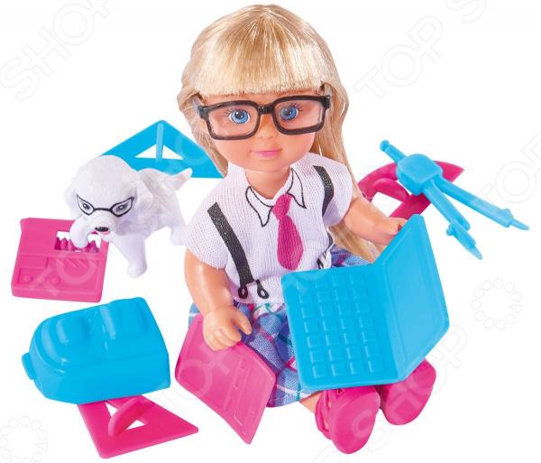 Кукла EVI с школьными принадлежностями
