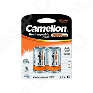Набор батареек аккумуляторных Camelion C-3500mAh Ni-Mh BL-2