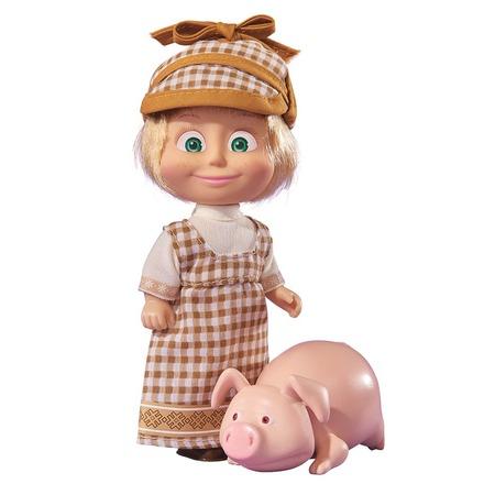 Купить Кукла с аксессуарами Simba «Маша с друзьями-животными». В ассортименте