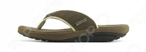 Сланцы мужские Walkmaxx Flip Flop. Цвет: коричневый 4