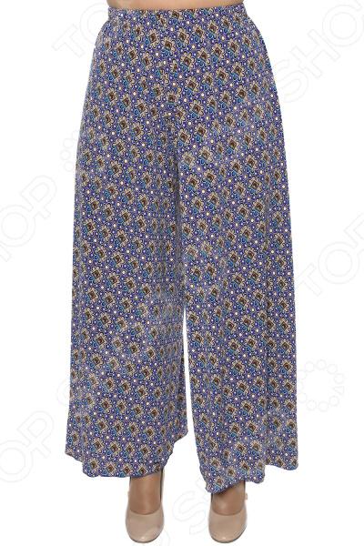Брюки Pretty Woman «Счастливый отпуск». Цвет: васильковый брюки pretty woman восточная сказка цвет синий
