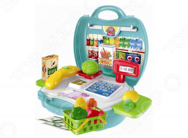 Игровой набор для ребенка 1 Toy в чемоданчике «Профи. Продавец Супермаркета» абрамычев а ред акафист пресвятой богородице в честь чудотворной ее иконы почаевская