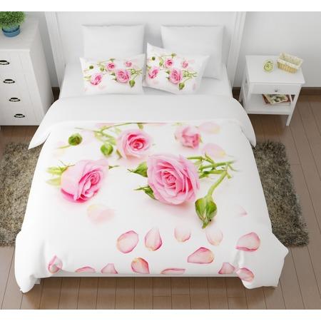 Купить Комплект постельного белья Сирень «Лепестки роз»