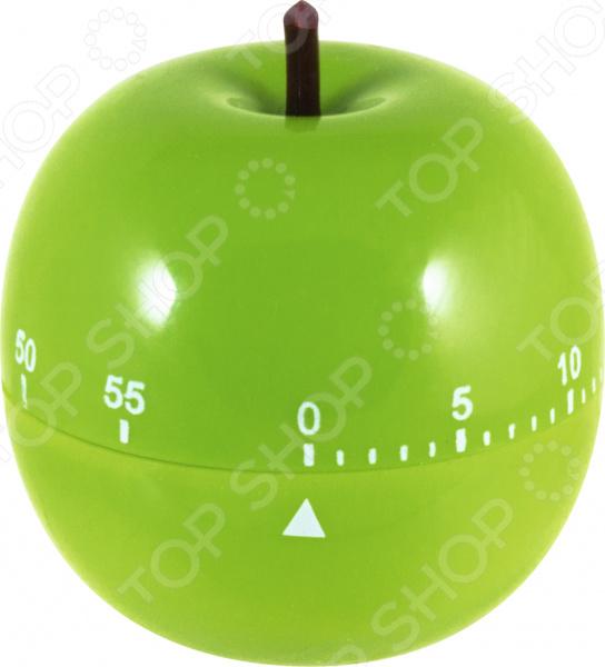 Таймер кухонный Mallony Apple полезный аксессуар для любого повара. Он необходим для тщательного контроля приготовления блюд в напряженной обстановке, когда нет времени следить за всеми процессами сразу.  Таймер поможет вам точно измерять время приготовления блюд, а также настраивать время для напоминания о том, что вы, например, поставили на плиту чайник с водой или кипятите молоко.  Можно настроить в диапазоне до 60 минут. А когда время закончится, зазвенит громкий сигнал, который оповестит вас о готовности.  Корпус сделан из прочного пластика в виде фрукта.  Оригинальный дизайн таймера украсит интерьер любой современной кухни. Размер: 7х7.5 см.