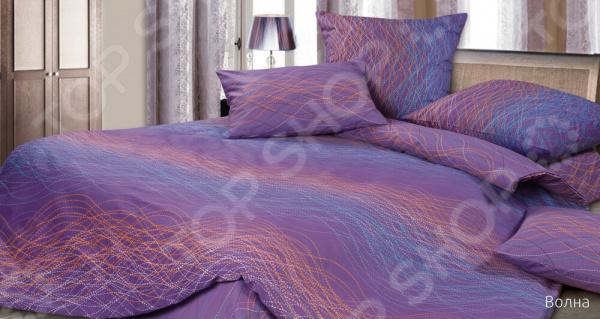 Комплект постельного белья Ecotex «Волна» ecotex постельное белье элизабет