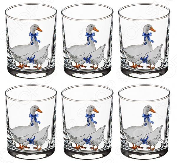 Набор стаканов «Гуси»