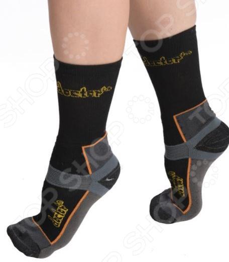 Носки из бамбука с медной нитью «Энергия» для экстремального использования. Цвет: черный
