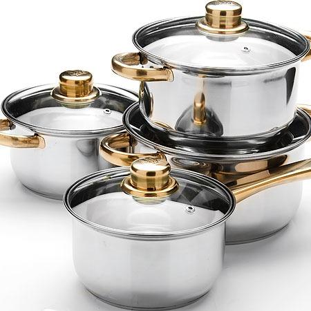 Купить Набор посуды для готовки Mayer&Boch с крышками
