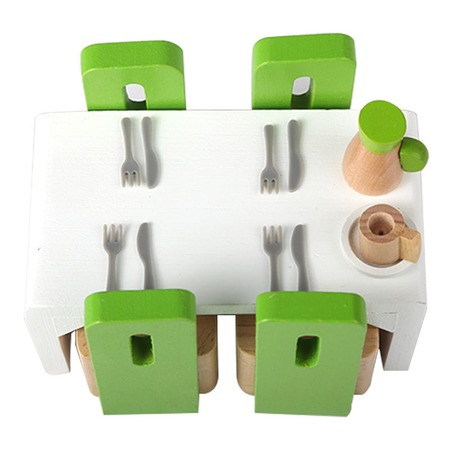 Купить Мебель для домика Hape «Столовая»