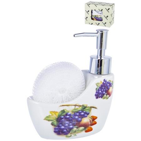 Купить Диспенсер-подставка для жидкого мыла и губки Guterwahl Party Time 05041