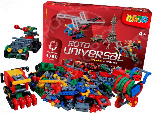 Конструктор игровой ROTO Universal. Количество элементов: 1760 шт Конструктор игровой ROTO Universal. Количество элементов: 1760 шт /