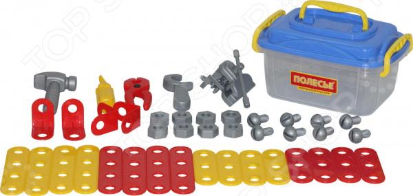 Игровой набор для мальчика Полесье в контейнере «Механик»