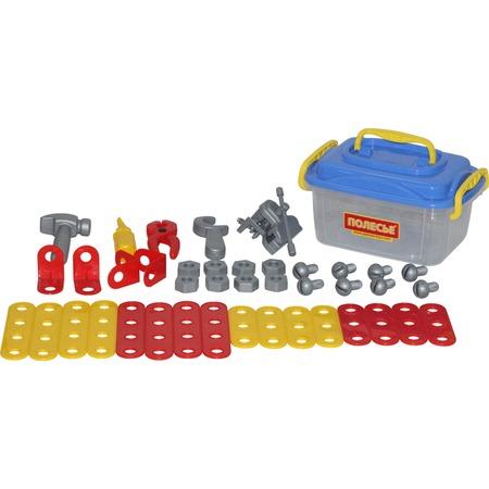 Купить Игровой набор для мальчика POLESIE в контейнере «Механик»