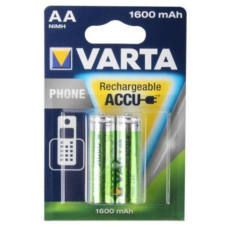 Батарея аккумуляторная VARTA PhonePower АА 1600 мАч 2 шт.