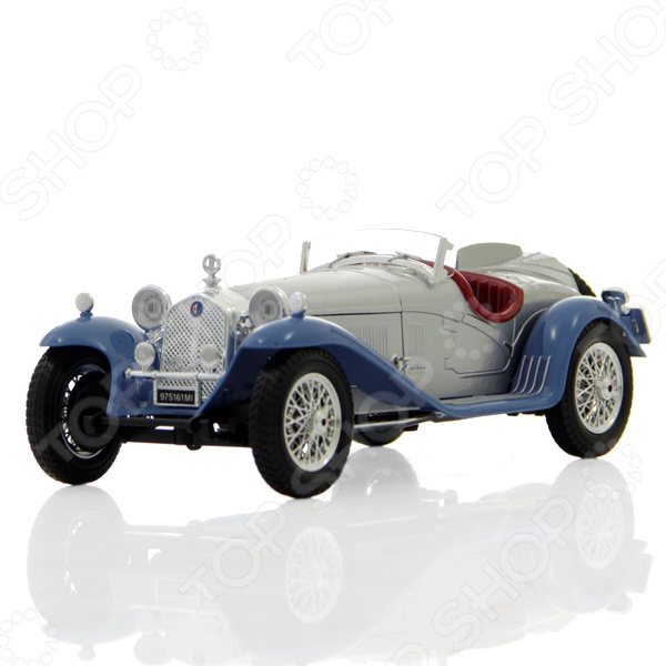 Модель автомобиля 1:18 Bburago Alfa Romeo 8C 2300 Spider Touring