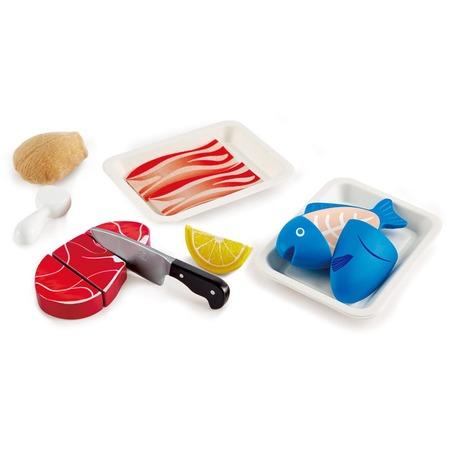 Купить Игровой набор для кухни Hape «Готовим мясо»