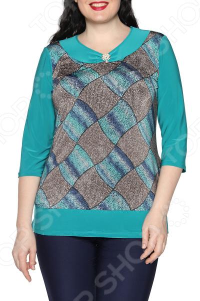 Туника Лауме-Лайн «Твое обаяние». Цвет: бирюзовый туника лауме стиль галла цвет зеленый