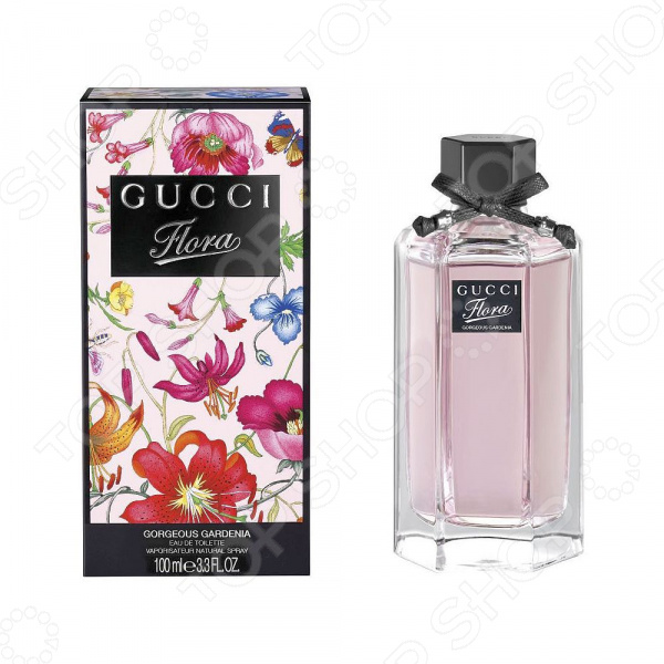 Туалетная вода для женщин Gucci Flora Gardenia, 100 мл gucci туалетная вода flora by gucci fraiche 75 ml