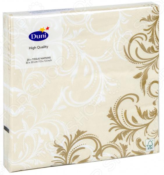 Салфетки бумажные Duni Grace 173265