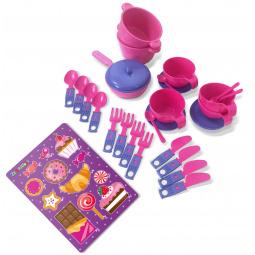 Набор посуды игрушечный Zebratoys «Чайный»