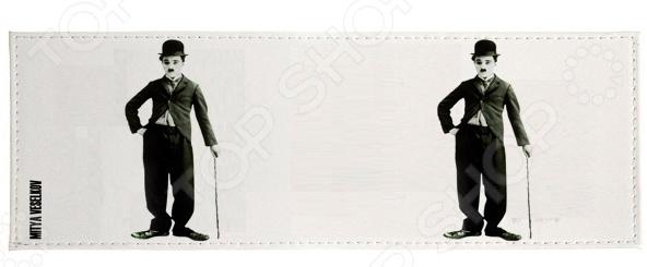 Обложка для студенческого билета Mitya Veselkov «Чарли Чаплин» обложка для студенческого билета mitya veselkov ежик ночью