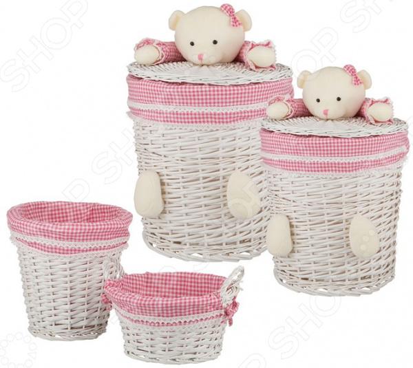 Набор корзин для игрушек Villa Bianca 190-144