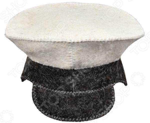 Шапка для бани и сауны Hot Pot «Фуражка» 41205 недорго, оригинальная цена