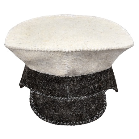 Купить Шапка для бани и сауны Hot Pot «Фуражка» 41205