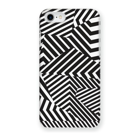 Чехол для iPhone 6 Mitya Veselkov «Черно-белая геометрия»