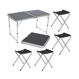 Набор туристической мебели: стол и стулья Ecos «Пикник»