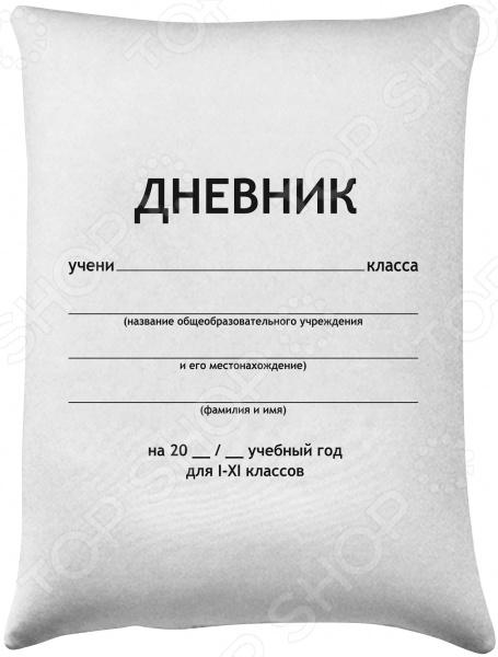 Подушка детская антистрессовая Рыжий кот «Дневник» DP-02-J